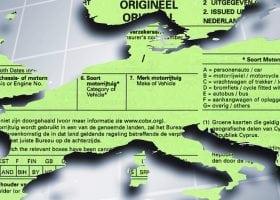 In welke landen is een originele groene kaart verplicht?