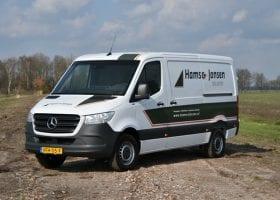 Johan Jansen vertelt over Hams & Jansen Bouw BV